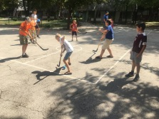 street hockey at its best