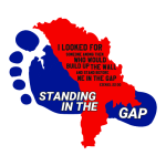 Standing in the gap logo
