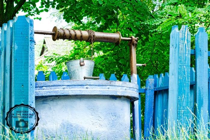 blue blue well
